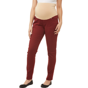 Planet Motherhood Maternity Colored Denim Skinny Jeans