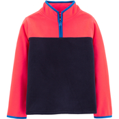 OshKosh B'gosh Little Boys Colorblock Half Zip Fleece Top