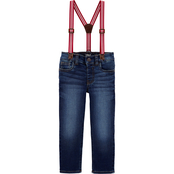 OshKosh B'gosh Little Boys Suspender Jeans