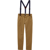 OshKosh B'gosh Boys Suspender Pants Size 8