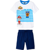Nickelodeon Little Boys PAW Patrol Shirt and Woven Shorts 2 pc. Set
