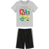 Disney Little Boys Toy Story Tee and Shorts 2 pc. Set