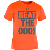 Under Armour Little Boys Beat The Odds Tee