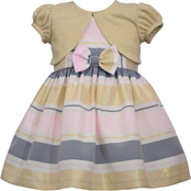 Bonnie Jean Infant Girls Taffeta Dress