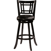 Hillsdale Fairfox Swivel Counter Height Stool