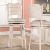 Hillsdale Clarion Swivel Barstool