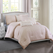 Elight Home Preto 7 pc. Comforter Set
