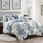 Elight Home Jonah 6 pc. Comforter Set