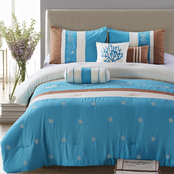 Elight Home Seward 7 pc. Comforter Set
