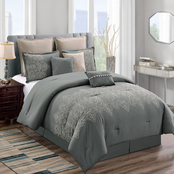 Elight Home Oakley 8 pc. Comforter Set