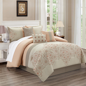 Elight Home Una 7 pc. Comforter Set