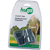 Hugo Rubber Contoured Crutch Tips 2 pk., Large