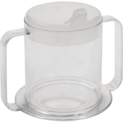 Drive Medical Clear 2 Handle Cup