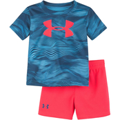 Under Armour Infant Boys Altitude Multi Tee and Shorts Set