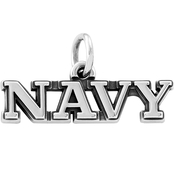 James Avery Navy Charm
