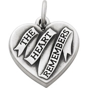 James Avery The Heart Remembers Charm