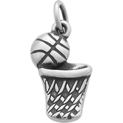 James Avery Basketball Hoop Charm