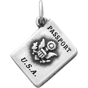 James Avery Passport Charm