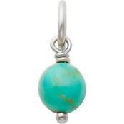 James Avery Turquoise Bead Charm