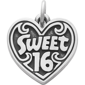 James Avery Sweet 16 Charm