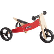 Lil' Rider 2 in 1 Wooden Balance Bike and Push Tricycle