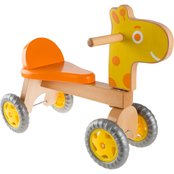 Happy Trails Walk and Ride Wooden Giraffe
