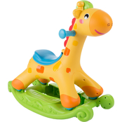 Happy Trails Plastic Musical Learning Rocking Horse