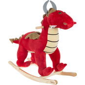 Happy Trails Rocking Animal Dragon