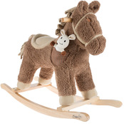 Happy Trails Rocking Horse with Removable Friend