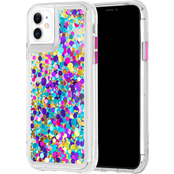 Case-Mate Waterfall Case for Apple iPhone 11, Confetti