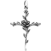 James Avery Rosebud Cross