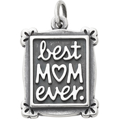 James Avery Sterling Silver Best Mom Ever Charm
