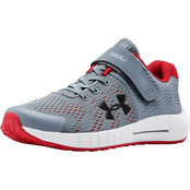 Under Armour Preschool Boys Pursuit BP AC Running Shoes Ash Gray