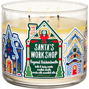 Bath & Body Works Land of Sweets: Santa's Workshop 3 Wick Candle