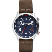 Columbia Outbacker Saddle Leather Watch CSC01