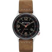 Columbia Canyon Ridge Leather Watch CSC02