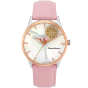 Tommy Bahama Women's Spinning Lemon Cocktail Swarovski Crystal Watch 252857RST221