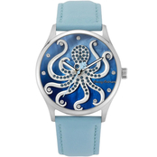 Tommy Bahama Women's Octopus Swarovski Crystal Watch 253169SLV040