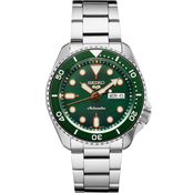 Seiko Men's Sports Series 5 Automatic Stainless Steel Watch SRPD63