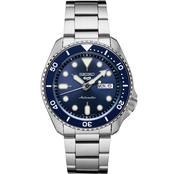 Seiko Men's Sports Series 5 Automatic Stainless Steel Watch SRPD51