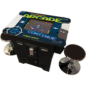 Creative Arcades 2 Person Cocktail Table Trackball Machine with 412 Classic Games
