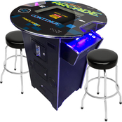 Creative 2 Person Pub Table Arcade Machine with 60 Classic Games