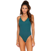 Damsel Juniors High Leg One Piece Swimsuit