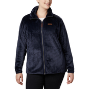 Columbia Plus Size Fire Side II Sherpa Full Zip Top