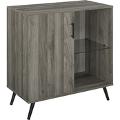 Walker Edison 30 in. Wood Accent Storage Cabinet