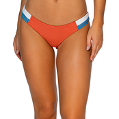 Damsel Juniors Sunsets Colorblock Bikini Bottom