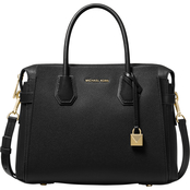 Michael Kors Mercer Medium Belted Leather Satchel