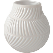 Simply Perfect 7 in. Basketweave Vase