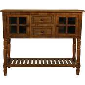 Decor Therapy Morgan Two Door Console Table