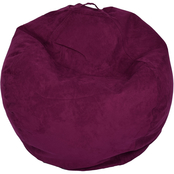 National Brand Large Microsuede Bean Bag Chair